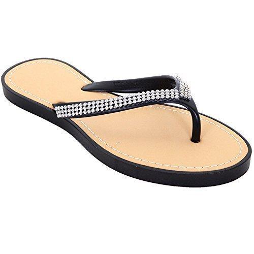 Sapphire Damen Casual Sommer Flip Flops Schuhe Damen bequem mit String Sandale