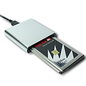 Amazon.com: PCMCIA tarjeta de memoria en adaptador USB2.0 ...