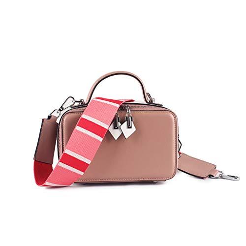 Moda Pink Contrasto Donna Capacità Tracolla Larga Da Borsa Grande Multifunzione Colore Di A FqTxXZ7H