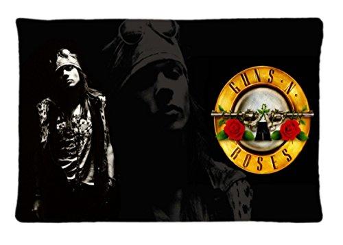 Guns N Roses Papéis de Parede, Plano de Fundo Área Custom Diy Image Pillowcase Rectangle Pillow Cases Standard Size 20X30 inches New