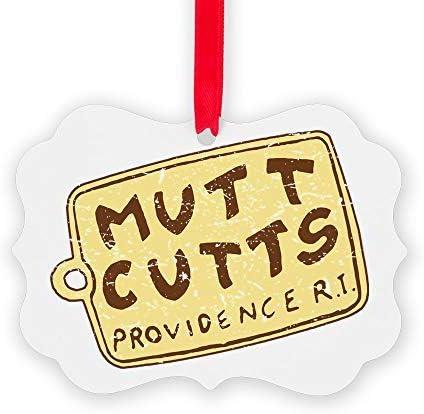 RARE Dumb and Dumber Mutt Cutts Sheep Dog Van Holiday Christmas Tree Ornament