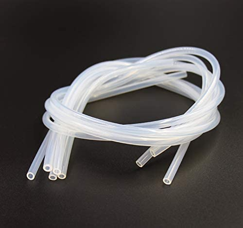 Sp/écification 8x10mm /À th/é Zys de qualit/é Alimentaire en Silicone Transparent Tuyau en Caoutchouc ext/érieur Diam/ètre Flexible Tube en Silicone 1m