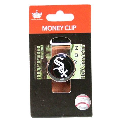 aminco MLB Chicago White Sox Domed Money Clip