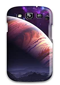 Flexible Tpu Back Case Cover For Galaxy S3 - Fantasy Outer Space