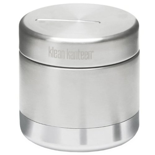 Klean Kanteen Double Wall Vacuum Insulated Stainless Steel Food Canister Container with Leak Proof Insulated Lid - 8oz