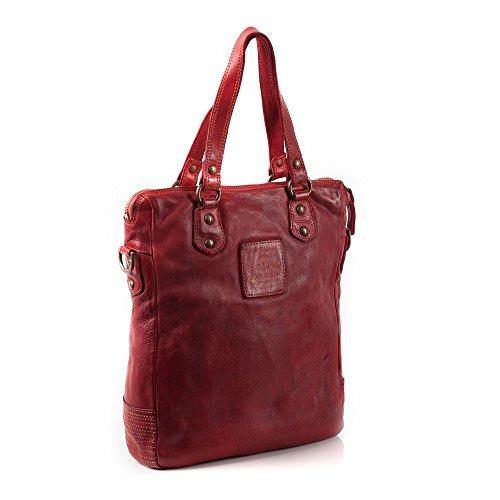 Campomaggi Handtasche Henkeltasche C09021BISVL-1501 rosso
