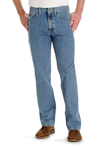 LEE Men's Regular Fit Straight Leg Jean, Vintage, 35W x 32L