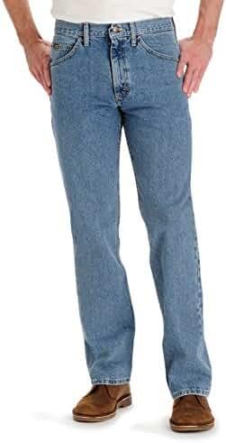 Lee Men's Regular Fit Straight Leg Jeans - Vintage, Vintage, 35X32