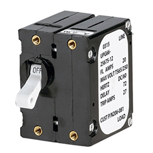 Paneltronics 206-083S Magnetic Circuit Breaker A Frame Double Pole 30A Marine RV Boating Accessories