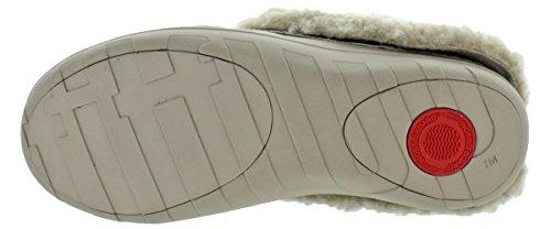 FitFlop Loaff Snug Slippers Black/Silver Plaid Multi YCZJKm