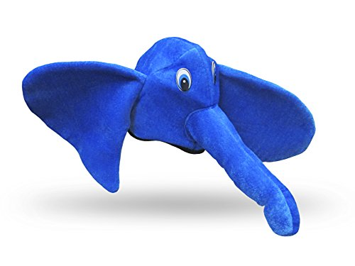 Toy Cubby Plush Elephant Hat Costume Accessory - Soft Masquerade Halloween Party Necessity - All Ages! -