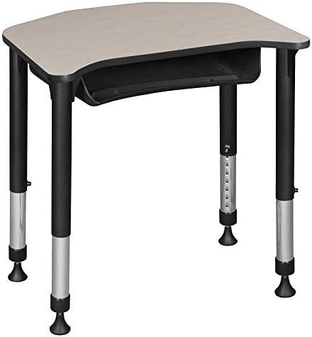 Regency Ferris Height Adjustable School Student Desk - the best modern office desk for the money