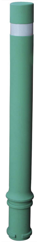Pilona flexible de alta resistencia y flexibilidad verde. Bolardo flexible A-Resist (1- Pilona) Ado Cerramientos Metálicos SA