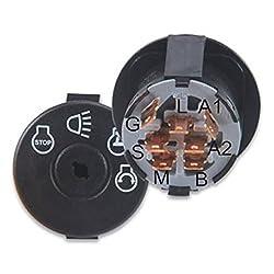 GY20074 Ignition Key Starter Switch for John Deere Scotts Sabre 100 series LA L