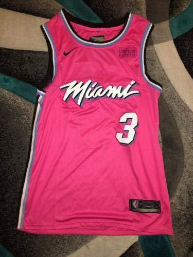 076790e317d17 Dwyane Wade Signed Jersey - Superstar Vice Last Dance Beckett - Beckett  Authentication - Autographed NBA