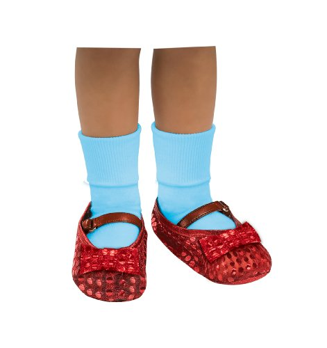Dorothy Red Ruby Shoes (Wizard of Oz Dorothy Sequin Shoes Covers, 75th Anniversary Edition)