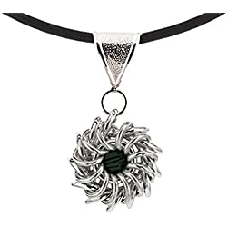 Weave Got Maille Whirlybird Chain Maille Necklace Kit, Rock and Roll