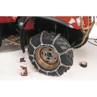 2010 Arctic Cat 450i H1EFI Auto 4x4 ATV V-Bar Tire Snow Chains [Rear]