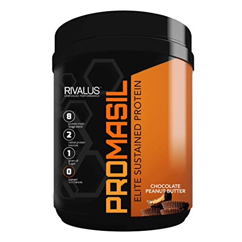 Rivalus Promasil Protein, Chocolate Peanut Butter, 1 Pound