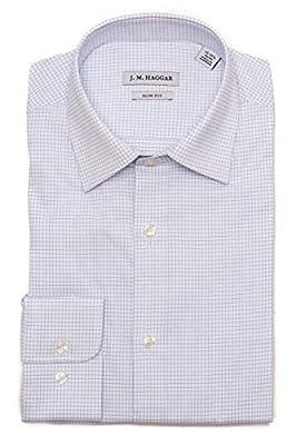 Haggar Men's Premium Performance Slim Fit Dress Shirt