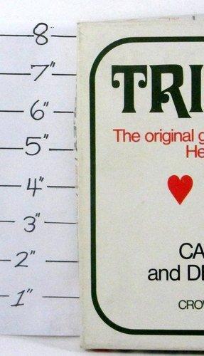 VINTAGE TRIPOLEY MICHIGAN RUMMY DELUXE CROWN ED. #225 -Cadaco Cards- Dlx 1969