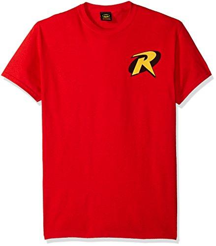 Trevco Men's Batman and Robin Robin Logo T-Shirt at Gotham City Store