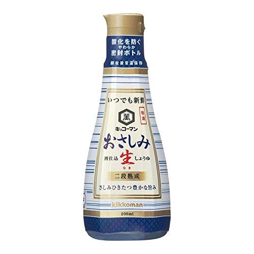 Osashimi NAMA shoyu (soy sauce for sashimi) 200mlx6