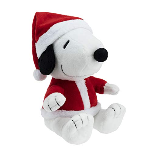 Hallmark Santa Snoopy Plush Stuffed Animal, Christmas Snoopy in Santa