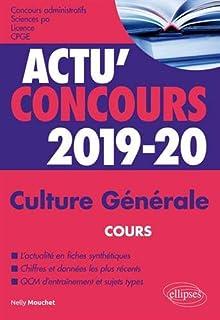 Culture generale - concours 2019-2020 (Actu Concours)