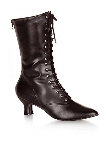 mattschwarz Victorian Renaissance Stiefel 120 38 Gr Funtasma wRI6qS