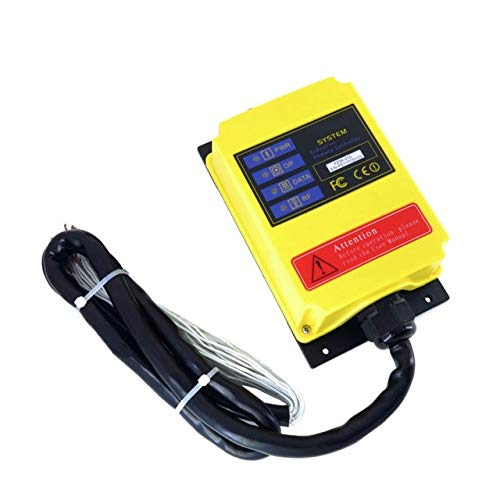 bluee A2HH Electric Hoist with a Direct Control Type Industrial Remote Control Built-in contactor with Emergency Stop Switch switches(color  220v)