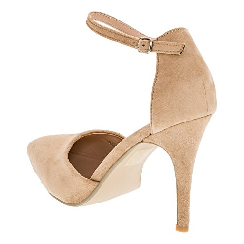 Girlhood Women's Court Shoes M365be Beige 8Wz4WtGy