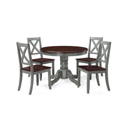 Maddox 5-Piece Dining Set, Blue