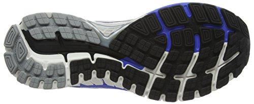 Brooks Adrenaline Gts 16 - 110212 1b 181 - Zapatillas de running Hombre Plateado (Silver/Blue/Black 181)