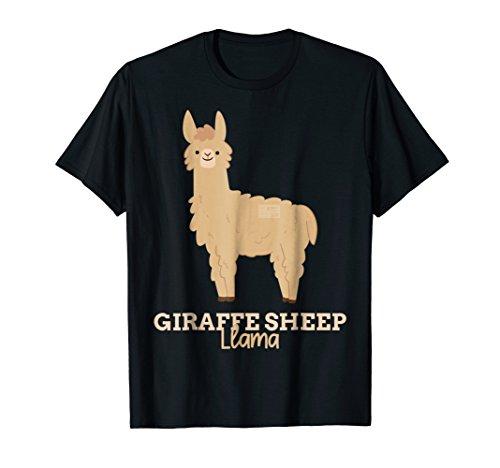 Animal Funny T-shirt Sheep (FUNNY ANIMAL NAME MEME GIRAFFE SHEEP LLAMA T-SHIRT)