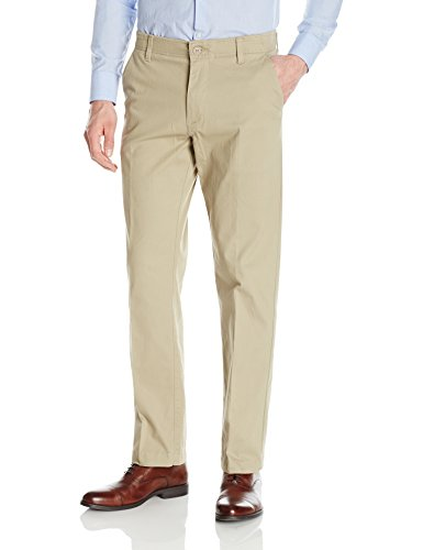 (LEE Men's Performance Series Extreme Comfort Pant, Pebble, 40W x 32L)