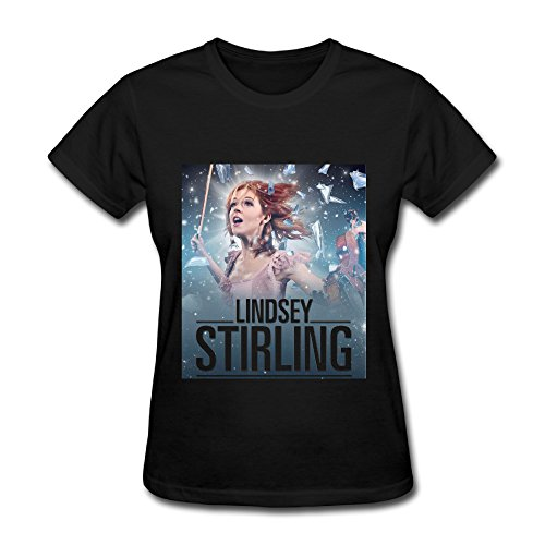 Hot Brave Enough Lindsey Stirling Tour 2016 T Shirt For Women