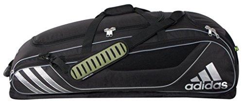 - adidas Loadflex Player Bat Bag, Black, One Size