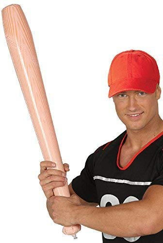 Adults Child's Inflatable Baseball Bat Sports Fan Carnival Halloween Fancy Dress Costume Outfit -