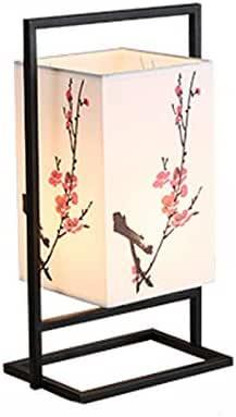 Estilo Europeo lámpara de mesa lámpara de cabecera pastoral creativa del estilo chino se puede utilizar en la sala de estar dormitorio interruptor de botón Sin Fuente de luz: Amazon.es: Iluminación