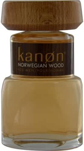 KANON NORWEGIAN WOOD by Scannon AFTERSHAVE 3.3 OZ (UNBOXED) for MEN ---(Package Of 2)