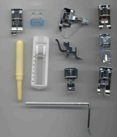 11 Piece Sewing Machine Foot Kit