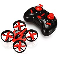Remote Control Aircraft - Mini 2.4G 4CH 6 Axis Headless Mode RC Quadcopter RTF (Random) by DOM - Remote Control Aircraft