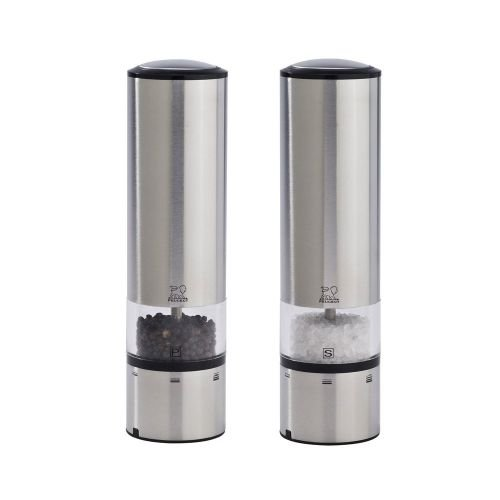 Peugeot Elis Sense Duo Electric Pepper and Salt Mill with Alpha Tray by Peugeot