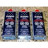 Zippo Premium Lighter Fluid 133 Ml - 4.68 Oz Lot of 3