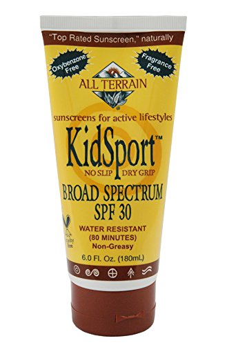 All Terrain Kid-Sport SPF-30 Оксибензон-Free Natural Солнцезащитный лосьон, 6-унция