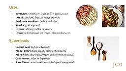 JEM - USDA Certified Organic Chocolate Hazelnut Butter Spread, Vegan, NON-GMO - 6 oz