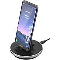 Samsung Galaxy S8 Desktop Charging Dock - Type C Charger (case compatible) by Encased