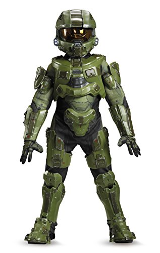 8 People Costumes (Master Chief Ultra Prestige Halo Microsoft Costume, Medium/7-8)