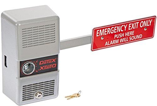 Detex Alarm Panic Exit Control Lock, Short Bar (2 Pack) -